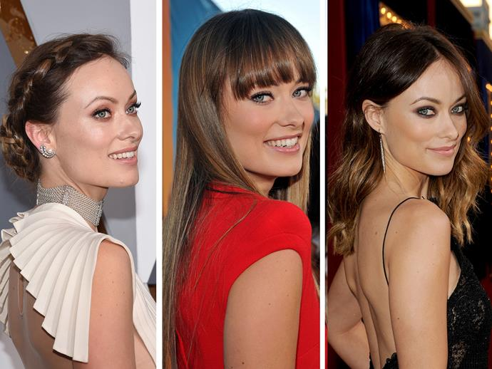 **Culprit:** Olivia Wilde **Guilty of:** The look-behind-you Throw a head over your shoulder, add in a pair of amazing eyes, and you have yourself a knockout routine pose.