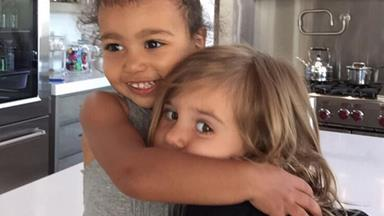 North West and Penelope Disick are #bestfriendgoals
