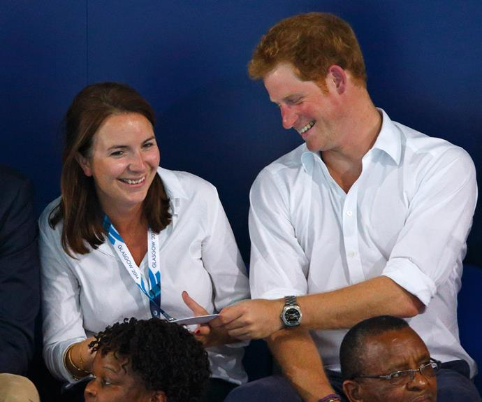 Sharing cheeky banter with Prince Harry? We can DEFINITELY do that...
