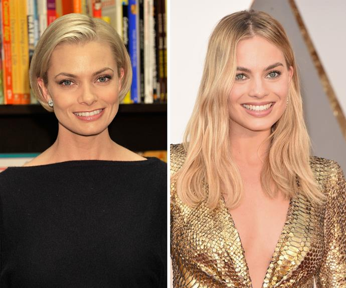 Jaime Pressly and Margot Robbie look scarily similar, but you wouldn't think it until you saw them side by side.