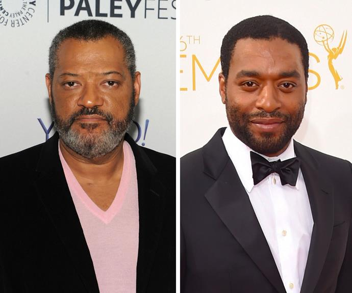 Chiwetel Ejiofor and Laurence Fishburne are both critically acclaimed actors, and *Children of Men* actor Chiwetel can look forward to looking just like *The Matrix* actor Laurence in about 15 years!