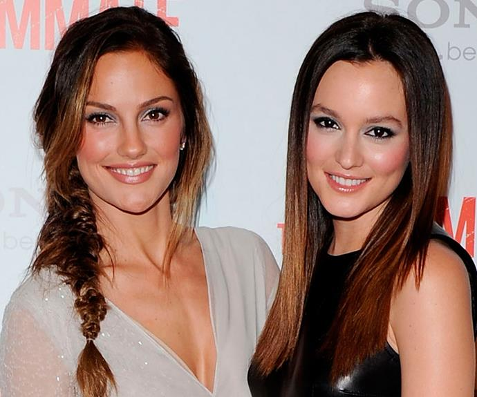 Minka Kelly and Leighton Meester's resemblance is so strong, it's no wonder the pair were cast together in *The Roommate*. The 2011 horror flick involved Leighton's copycat character becoming scarily obsessed with Minka's character and even emulating her look.