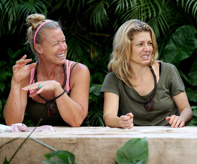 Lisa formed some close friendships in the South African jungle. *(Image: Network Ten)*