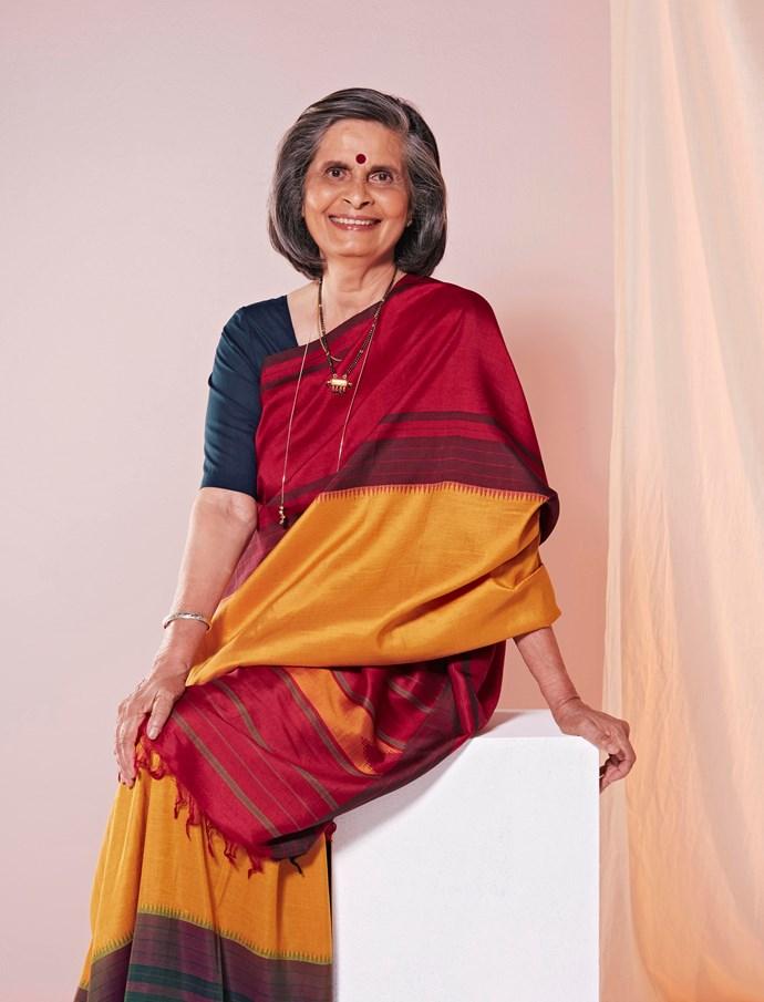 Gladys is a breast cancer survivor and Pink Sari Project ambassador