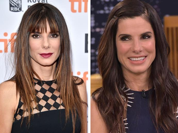 Just when we thought Sandra Bullock couldn't look any more amazing she went the chop late 2015 and we ate our own words.