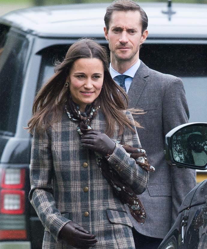 "Pippa and James are planning a ""low-key wedding."""