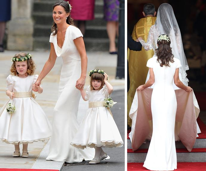 Pippa had a starring role in the royal wedding.