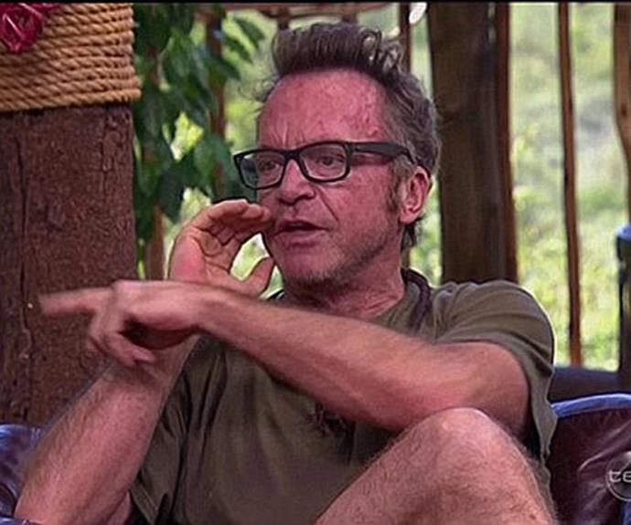 Tom certainly stirred the pot before he was swiftly given the *I'm A Celeb* boot.