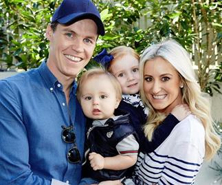Roxy Jacenko and Oliver Curtis