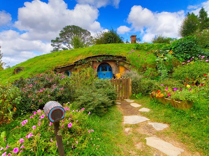 A Hobbit hang-out in Matamata