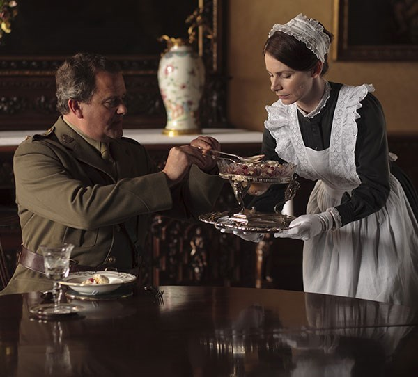 **3. Downton Abbey** This show follows the aristocratic Crawley family and the servants in their manor.
