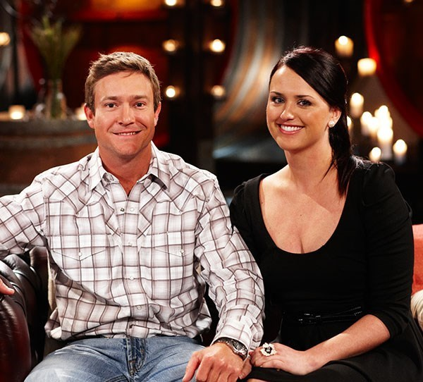**Season 7 (2011) - Frank Atherton & Tenille Jolly**  It all started with a five minute speed date for Farmer Frank Atherton and Perth office girl Tenille Jolly. From that moment on sparks flew between the pair, who ended up becoming a love match on the show. Fast forward two years on Valentine's Day when grazier Frank proposed on his Hughenden property – and the pair are now married.