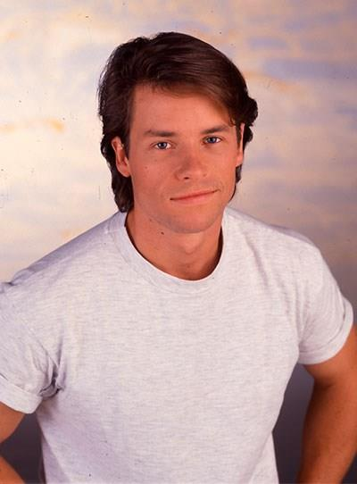 **Guy Pearce - Home And Away** <br><br> In 1991, Guy appeared in *Home And Away* as David Croft. Guy was on-screen for about six weeks and had a romance with Rebekah Elmalogou's character Sophie.