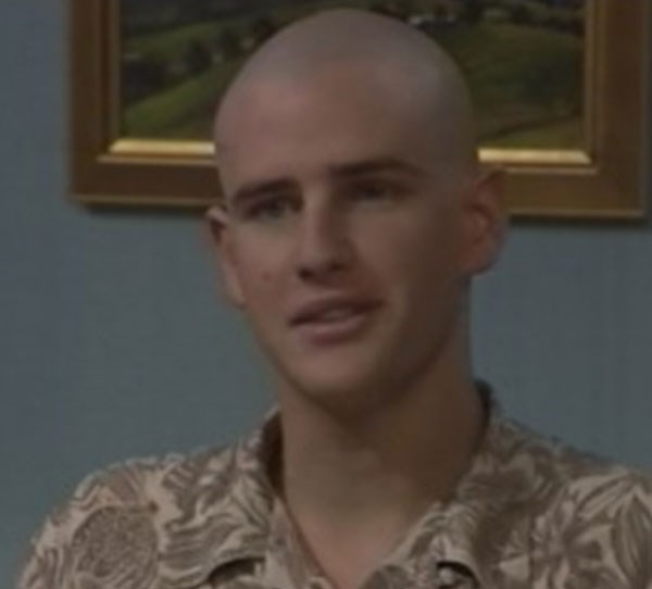 **9. Bernard Curry - Neighbours** <br><br> In 1995, Bernard Curry popped up in *Neighbours* as Luke Handley. During his time in Ramsay Street, Luke had a brief fling with Libby Kennedy (Kym Valentine)!