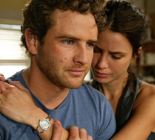 **10. Bernard Curry - Home And Away** <br><br> In 2009, Bernard joined the cast of *Home And Away* as Hugo Austin and won the heart of Martha (Jodi Gordon).