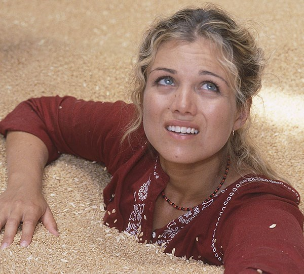 **Then: Bridie Carter** <br><br> Oh, Tess! A *McLeod's Daughters* favourite, Tess became the owner of Drover's Run following the death of her half-sister. She moved to Argentina at the end of season six.