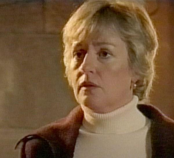 **Then: Catherine Wilkin** Catherine made regular appearances on the show as Liz Ryan, Alex and Nick's mother.
