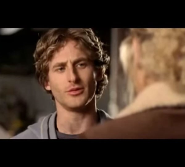 **Then: Dean O'Gorman** <br><br> Remember bad boy, Luke? He was played by Dean O'Gorman. However, his short time on the show ended when Luke was sent to jail.