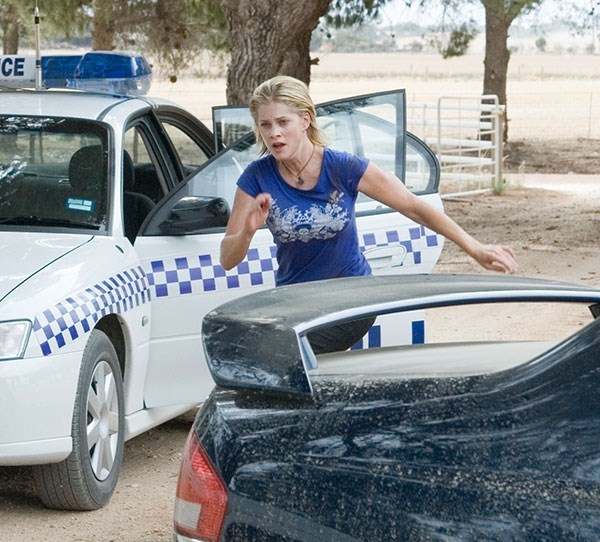 **Then: Gillian Alexy** <br><br> Gillian joined *McLeod's Daughters* in season six at Tayler Geddes. Tayler headed to Drover's Run to exact revenge on Regan, who she held responsible for her father's death. She remained until the show's cancellation.