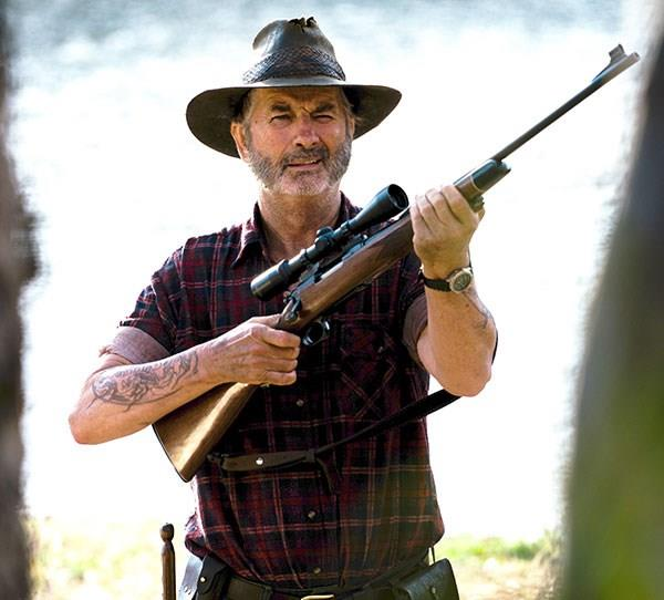 **Now: John Jarratt** <br><br> During his time on *McLeod's Daughters*, John scored the role of the terrifying Mick Taylor in *Wolf Creek*. He's since starred in the sequel and TV series, as well as landing a small part in Quentin Tarantino's *Django Unchained*.