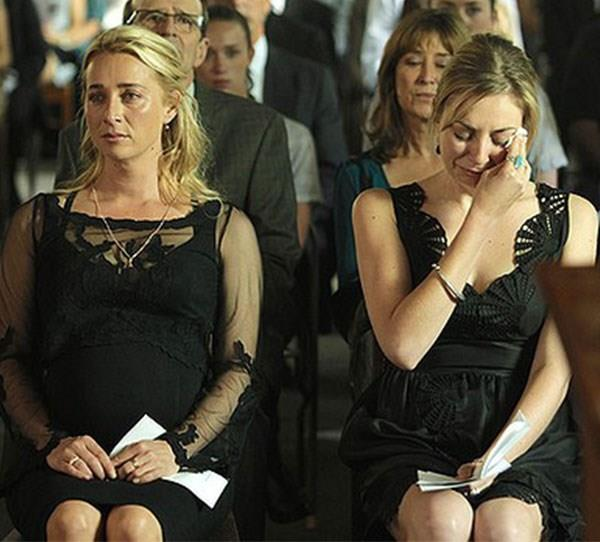 **Patrick (Matt Le Nevez) in *Offspring* (2013)** There really should have been a national day of mourning for this one. Dr Patrick died after being hit by a car, leaving behind Nina (Asher Keddie), who was carrying his baby. Why? Why? Because Matt was off to LA, that's why.