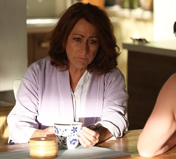 """**Irene (Lynne McGranger)** One of Summer Bay's most-loved residents was devastated when she learnt she had breast cancer. """"Irene has been through the mill over the years, but this is being confronted by her own mortality,"""" Lynne said of the 2011 storyline."""