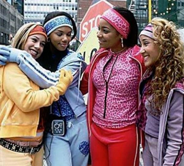 **Raven Symone** Raven starred as our favourite teen psychic on Disney show *That's So Raven* and Disney channel original movie *The Cheetah Girls*.