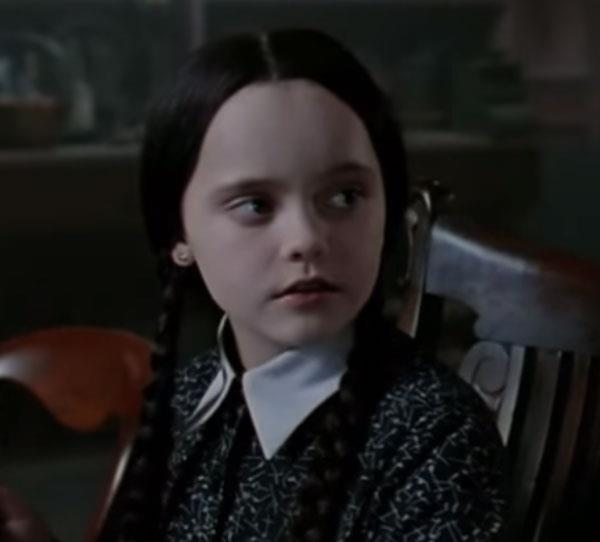 **Christina Ricci** Christina Ricci gave us all the creeps as Wednesday Addams!