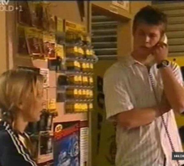 **Chris Hemsworth** We bet you don't remember this one! Before Chris was Kim Hyde in *Home And Away*, the actor landed a role in *Neighbours* as Jamie Kane for one episode. We count it! (Yes, we know it's grainy but we promise it's him!)