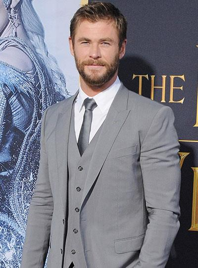 **Chris Hemsworth - Now** He shot to stardom in 2011 as the lusciously locked *Thor* and has been doing Aussies proud since.