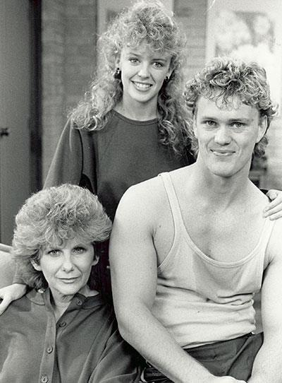 **Craig McLachlan** Craig McLachlan played joker Henry Ramsay on *Neighbours* from 1987-1989 and the role earned him three Logies!