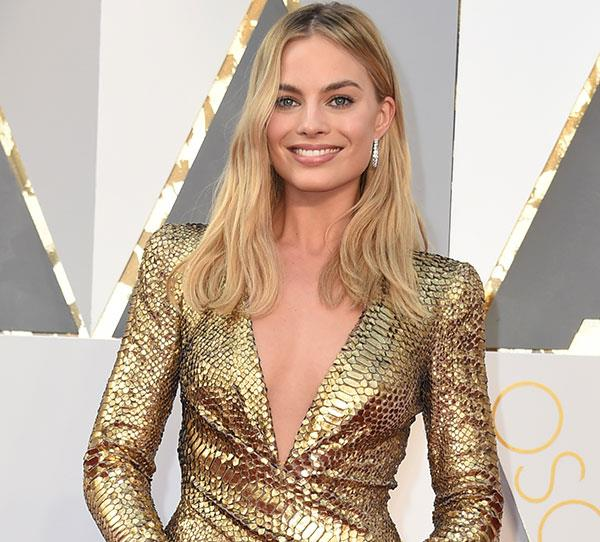 **Margot Robbie** Margot has been killing it in Hollywood since her days as Donna. She has starred in blockbusters, *The Wolf Of Wall Street* alongside Leonardo Di Caprio, *Focus* with Will Smith, and *Suicide Squad* with Cara Delevingne, and plays Tonya Harding in *I, Tonya*. A *Harley Quinn* spin-off movie has also been confirmed.