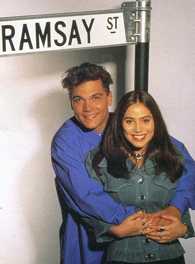 **Natalie Imbruglia** The 'Torn' singer played Beth Willis (nee Brennan) on Ramsay Street in the early 90s.