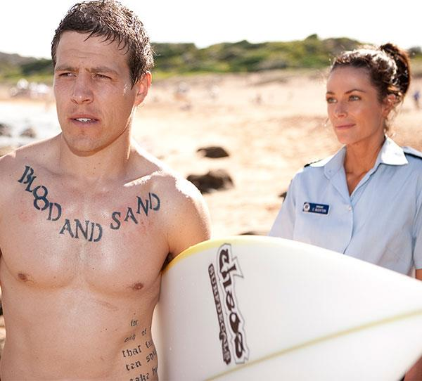 **Brax & Charlie (2011):** This was the ultimate good girl/bad boy relationship. As a cop, Charlie's (Esther Anderson) job was to keep Brax (Steve Peacocke) and his gang under control. But, Charlie couldn't keep her own feelings for him under control! Their kisses were super-steamy, and their relationship was one of the hottest ever on the show. It took Charlie's death to end it. Brax was shattered, as were the fans.