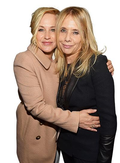 **Patricia & Rosanna Arquette**  **BACKGROUND:** Oscar-winning actress Patricia has starred in everything from acclaimed films such as *Boyhood* to TV shows such as *Medium*. Rosanna is a respected film and television actress whose credits include *Desperately Seeking Susan* and *Crash*.  **TV SHOW:** *CSI: Cyber* (2015).  **TOGETHER:** Patricia currently plays the lead role - FBI special agent Avery Ryan - on *CSI: Cyber*. Rosanna guest-stars in a one-off appearance as Trish McCarthy, one of Avery's former patients.