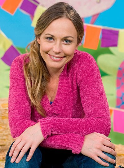 **Abi Tucker**  She went on to star in *The Secret Life Of Us* and *McLeod's Daughters* before landing her current role on ABC's *Playschool*.