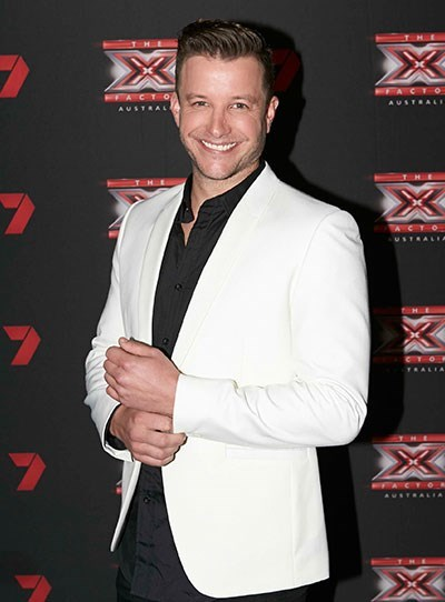**Luke Jacobz**  Luke is now known for his role as the cop (and later bar owner) Angelo in *Home And Away* and as the host of *The X-Factor*.