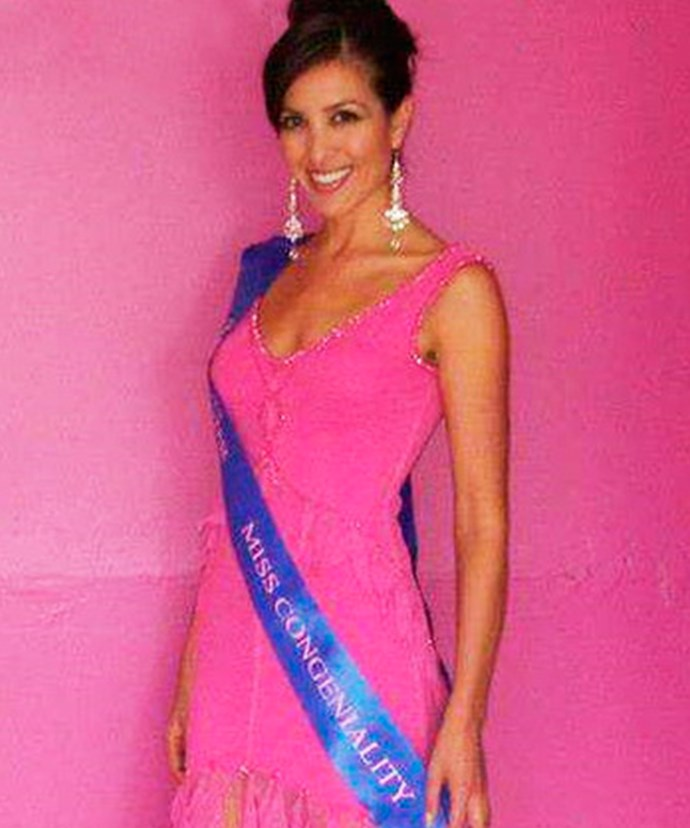 A Miss Universe finalist in 2005, Nadia landed the title of Miss Congeniality.