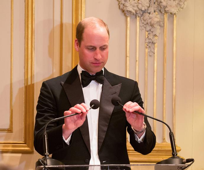 Meanwhile, Wills looked very sharp in his tux.