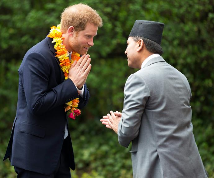 "The royal addressed the crowd at the Nepalese embassy, saying, ""The people of Nepal and the Gurkhas in particular, hold a very special place in the heart of the British public and in my family."""