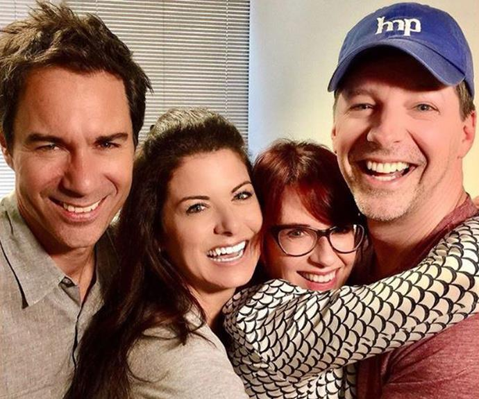 This *Will and Grace* team photo is actually making us tear up.
