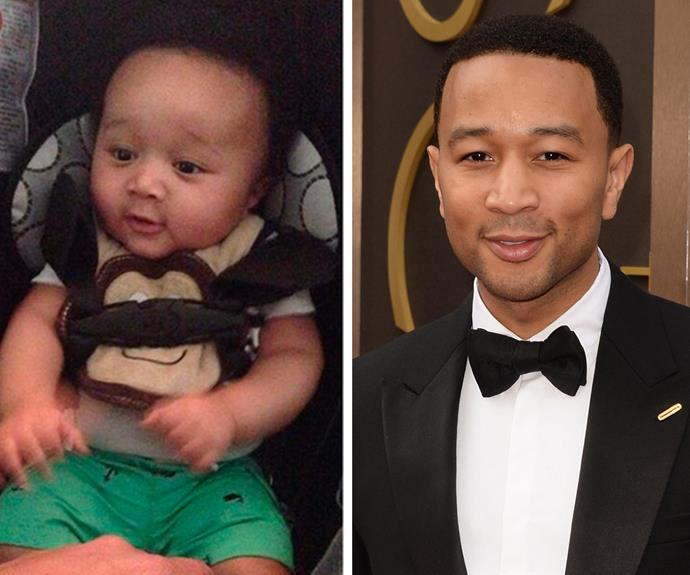This John Legend look-alike is too cute for words.