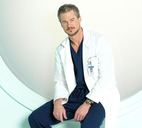 **Mark Sloan (Eric Dane)**  Dr McSteamy became the second casualty from the plane crash when he succumbed to the injuries he'd sustained in the accident.  Mark slipped in to a coma and was removed from life support after a month by Callie (Sara Rodriguez).