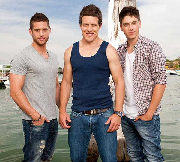 **The Braxtons**  Notable members: Brax Braxton (Steve Peacocke), Heath Braxton (Dan Ewing) and Casey Braxton (Lincoln Younes). The whirlwind arrival of the River Boys brought some bad boy antics to Summer Bay.