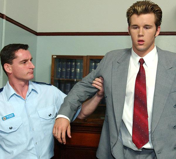 **Vinnie Patterson** <br><br> After his dad lost his family's money due to tax evasion, Vinnie (Ryan Kwanten) tried scheme after scheme to make a quick buck. When his estranged father returned years later, Vinnie ended up on the other end of a con and goes to prison.  <br><br> He eventually went into witness protection after giving evidence on people he was in prison with before dying in a farming accident.