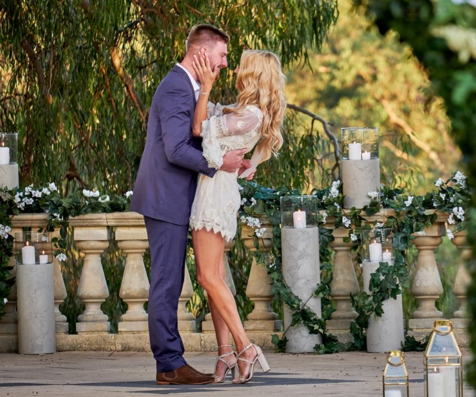 The couple's on-screen vow renewal had us all tearing up.