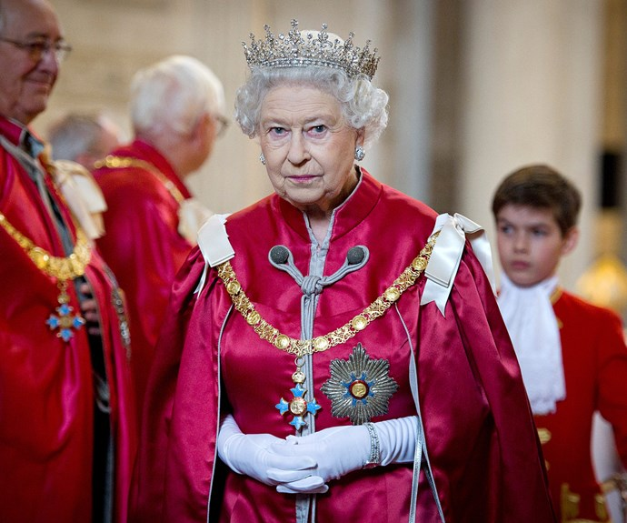 Her Majesty is yet to comment on the attacks.