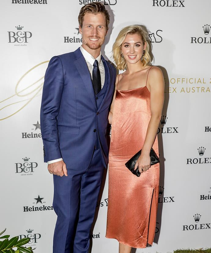 The couple's radio silence is finally over and on March 22nd, they attended the Glamour on the Grid Grand Prix party in Melbourne.
