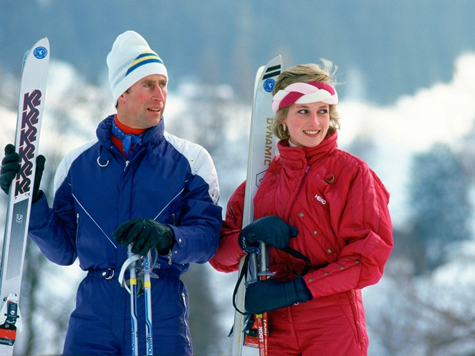 Nostalgic snaps of Charles and Diana's ski holidays, here in Switzerland in 1986, still make us want to book a snow-filled holiday to the Alps.