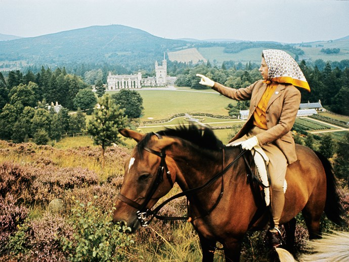 Then there's Queen Elizabeth II and her love of the great outdoors, which makes us want to hightail to the Scottish highlands to ride horseback around Balmoral Castle, too.
